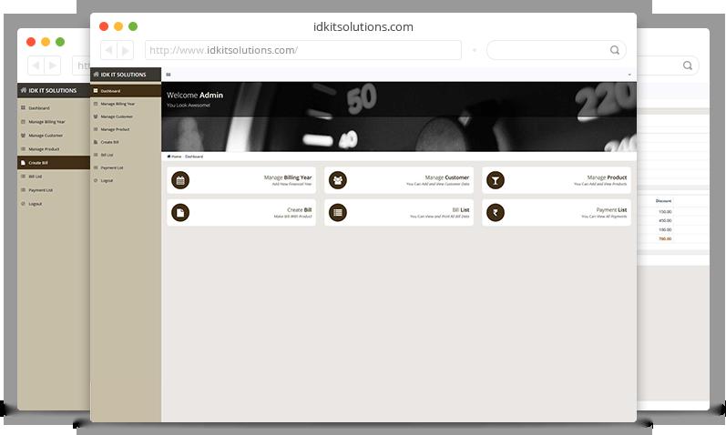 online billing system online billing system in surat idk it