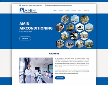 Amin Air Condition - IDK IT SOLUTIONS