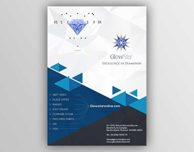 GLOW STAR DIAMOND MAGAZINE COVER - IDK IT SOLUTIONS